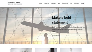 Mins Aircraft Rentals WordPress Theme