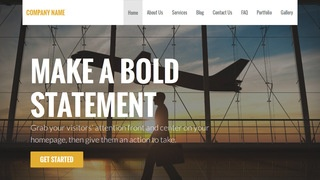 Stout Aircraft Rentals WordPress Theme