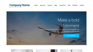 Ascension Aircraft Service and Maintenance WordPress Theme