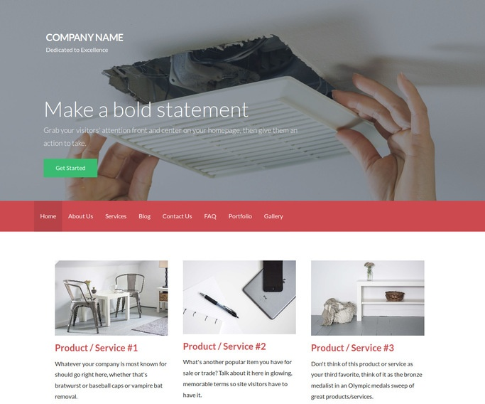 Activation Air Duct Cleaning WordPress Theme