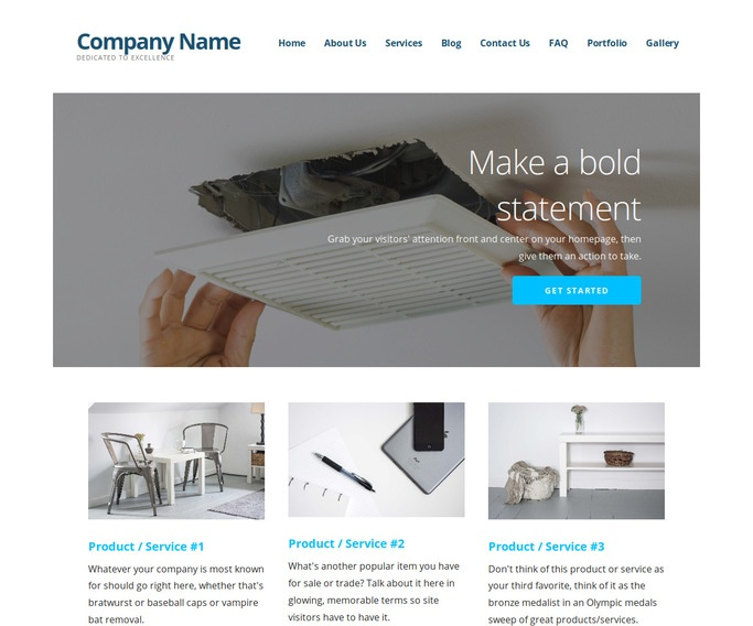 Ascension Air Duct Cleaning WordPress Theme