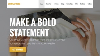 Stout Air Duct Cleaning WordPress Theme