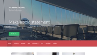 Activation Airline WordPress Theme