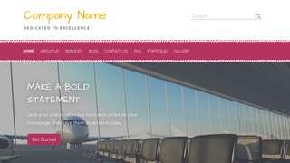 Scribbles Airline WordPress Theme