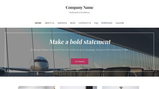 Uptown Style Airline WordPress Theme