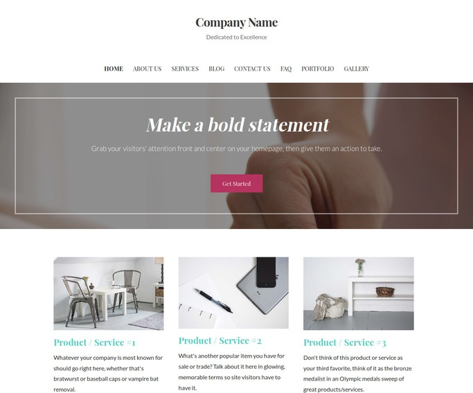 Uptown Style Alternative Medicine WordPress Theme