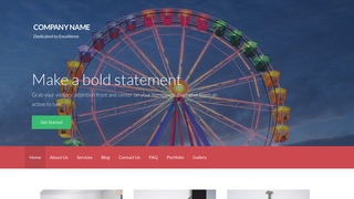 Activation Amusement Park WordPress Theme