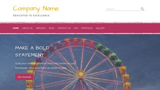 Scribbles Amusement Park WordPress Theme