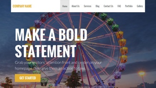 Stout Amusement Park WordPress Theme
