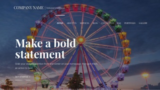 Velux Amusement Park WordPress Theme