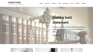 Mins Appellate Practice Attorney WordPress Theme