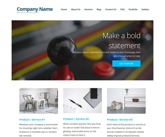 Ascension Arcade WordPress Theme