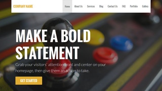 Stout Arcade WordPress Theme