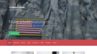 Activation Army and Navy Store WordPress Theme