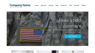 Ascension Army and Navy Store WordPress Theme