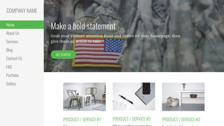 Escapade Army and Navy Store WordPress Theme