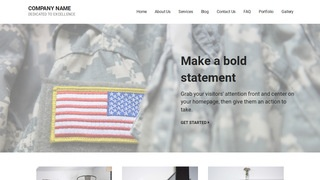 Mins Army and Navy Store WordPress Theme