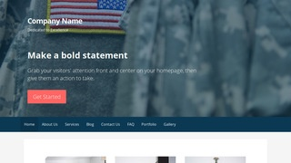 Primer Army and Navy Store WordPress Theme