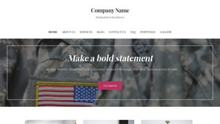 Uptown Style Army and Navy Store WordPress Theme