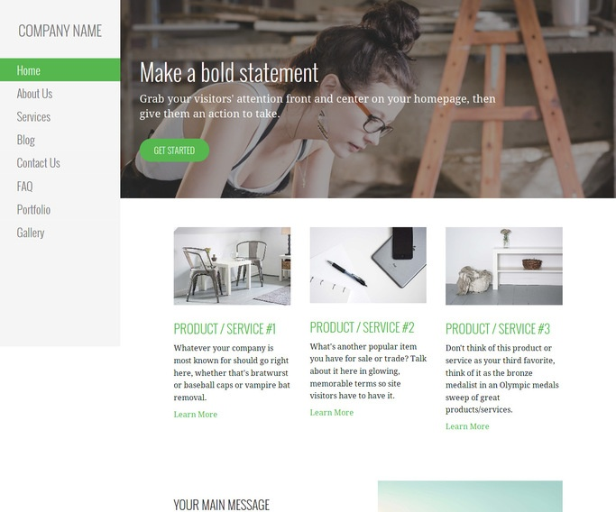 Escapade Artist WordPress Theme