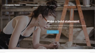 Lyrical Artist WordPress Theme