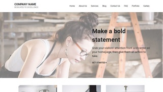Mins Artist WordPress Theme