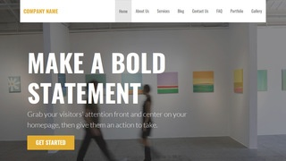 Stout Arts and Entertainment WordPress Theme