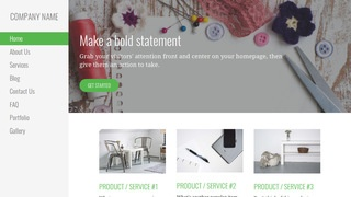 Escapade Arts and Crafts Store WordPress Theme