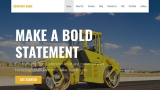 Stout Asphalt Contractor WordPress Theme