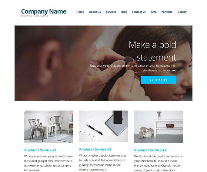 Ascension Audiologist WordPress Theme
