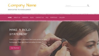 Scribbles Audiologist WordPress Theme