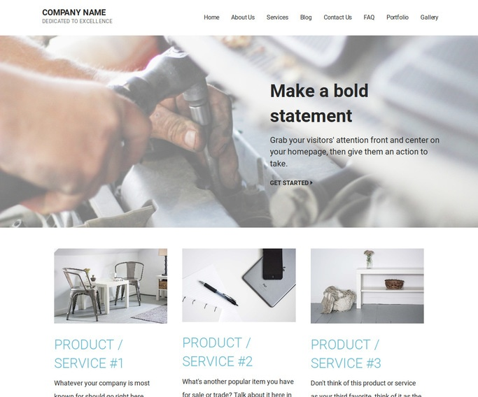 Mins Auto Parts WordPress Theme