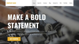 Stout Auto Parts WordPress Theme