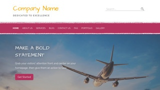 Scribbles Aviation Consultant WordPress Theme