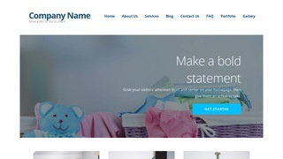 Ascension Baby Gear and Furniture WordPress Theme
