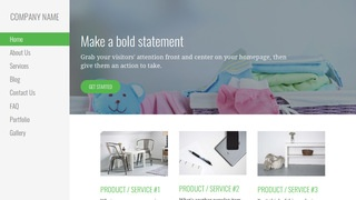 Escapade Baby Gear and Furniture WordPress Theme