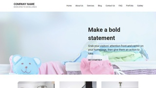 Mins Baby Gear and Furniture WordPress Theme