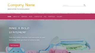 Scribbles Baby Gear and Furniture WordPress Theme