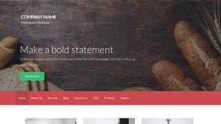 Activation Bakery WordPress Theme