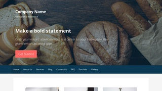 Primer Bakery WordPress Theme
