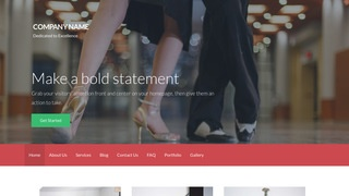 Activation Dance Lessons WordPress Theme