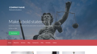 Activation Bankruptcy Law WordPress Theme