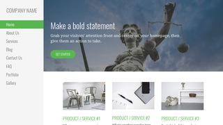 Escapade Bankruptcy Law WordPress Theme