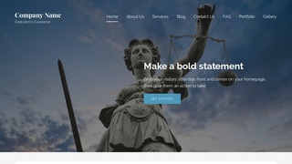 Lyrical Bankruptcy Law WordPress Theme
