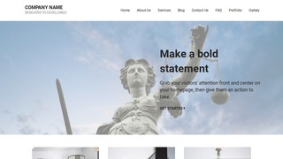 Mins Bankruptcy Law WordPress Theme
