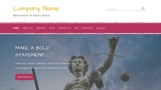 Scribbles Bankruptcy Law WordPress Theme