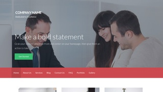 Activation Bank or Credit Union WordPress Theme