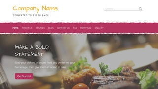 Scribbles Bar and Grill WordPress Theme