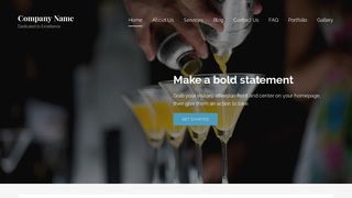Lyrical Bartender WordPress Theme