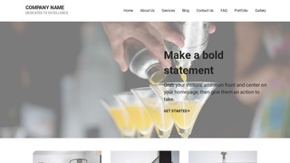 Mins Bartender WordPress Theme